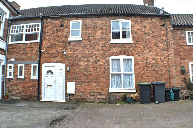 2 Bedrooms End Of Terrace House for sale in Cross Keys Yard, Sleaford