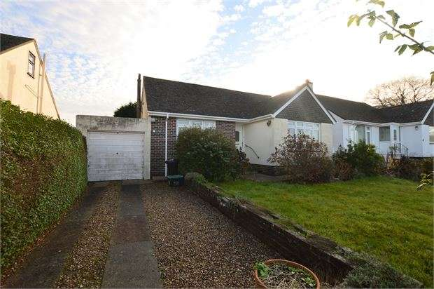 3 Bedrooms Detached Bungalow for sale in Denbury Down Lane, Denbury, Newton Abbot, Devon. TQ12 6DU