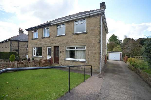 3 Bedrooms Semi Detached House for sale in Leak Hall Crescent, Denby Dale, HUDDERSFIELD, West Yorkshire