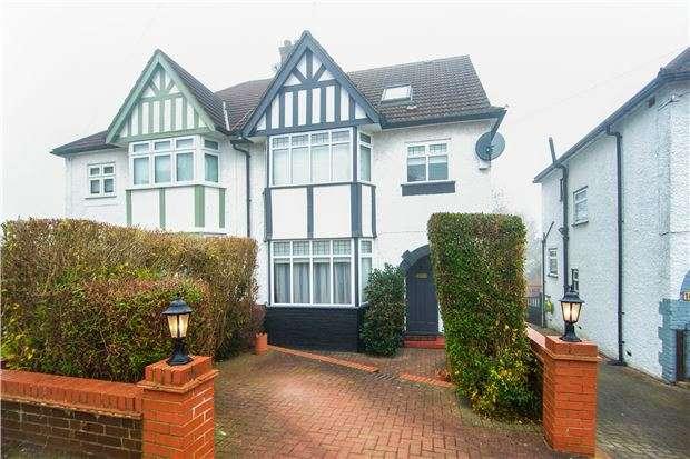 4 Bedrooms Semi Detached House for sale in Hillside, KINGSBURY, NW9 0NE