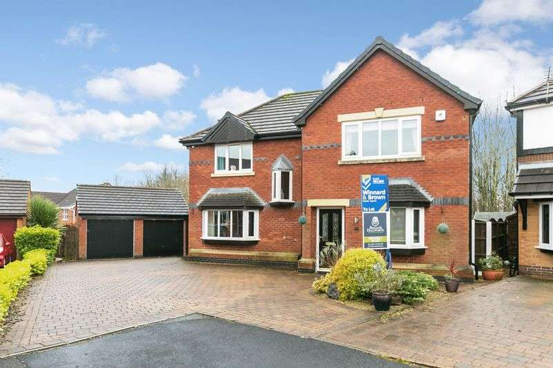 4 Bedrooms Detached House for sale in Hartington Drive, Standish, WN6 0UA