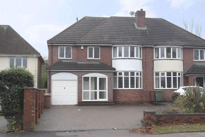 4 Bedrooms Semi Detached House for sale in Sutton Road, Walsall