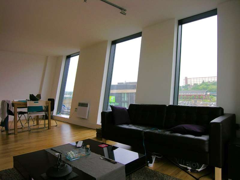 2 Bedrooms Apartment Flat for sale in Wicker Riverside, 2 North Bank, Sheffield