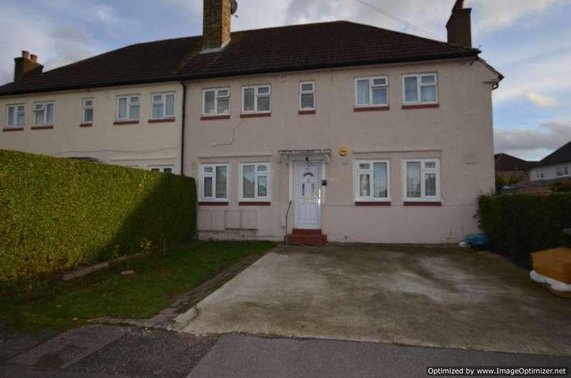 2 Bedrooms Ground Maisonette Flat for sale in Highmead Crescent, Wembley