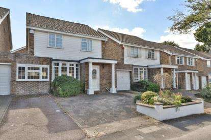 4 Bedrooms Link Detached House for sale in Worlds End Lane, Green Street Green