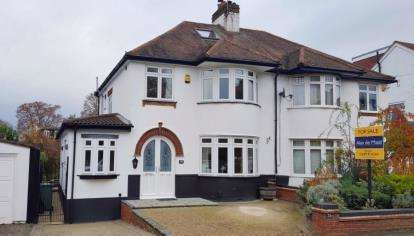 4 Bedrooms Semi Detached House for sale in Felstead Road, Orpington