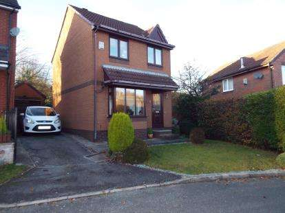 3 Bedrooms Detached House for sale in Haywood Crescent, Windmill Hill, Runcorn, Cheshire, WA7