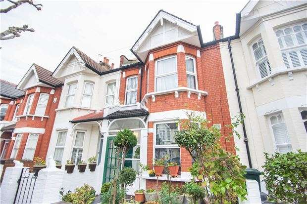 3 Bedrooms Terraced House for sale in Engadine Street, LONDON, SW18 5DT