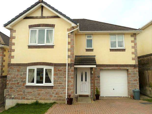 4 Bedrooms Detached House for sale in All Saints Park, St. Anns Chapel, Gunnislake, Cornwall