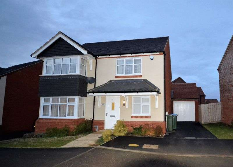 4 Bedrooms Detached House for sale in Dickens Lane, Newton Leys