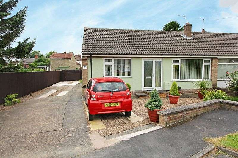2 Bedrooms Semi Detached Bungalow for sale in James Place, Ulceby