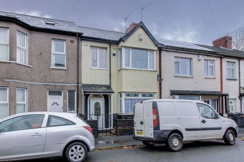 3 Bedrooms Terraced House for sale in Cromwell Road, Newport