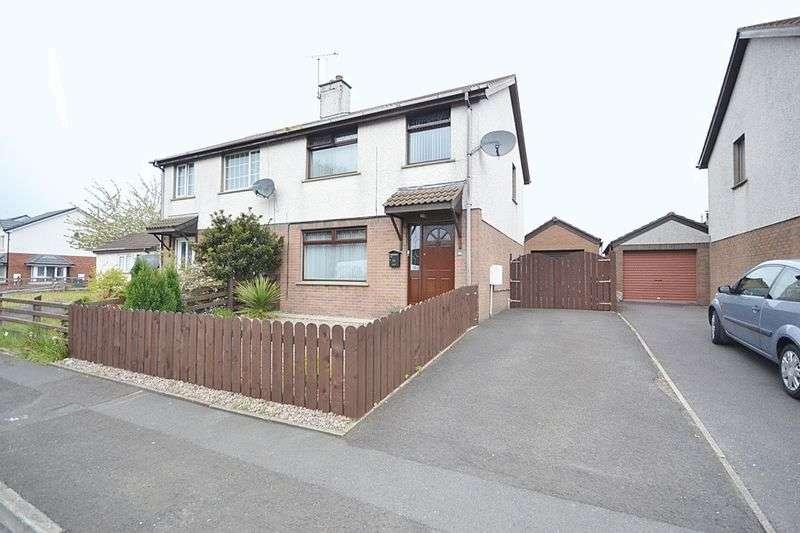3 Bedrooms Semi Detached House for sale in Edenvale Avenue, Carrickfergus