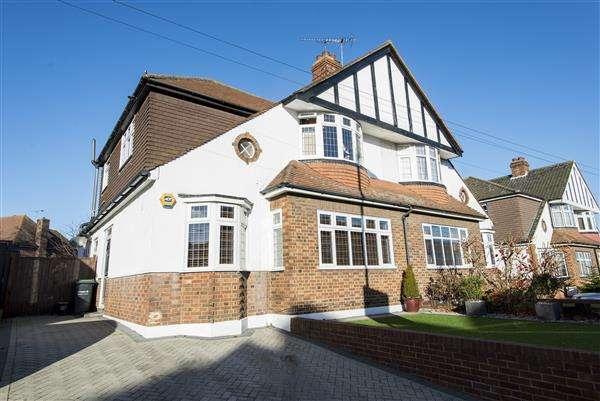 4 Bedrooms Semi Detached House for sale in Earl Road, Northfleet, Gravesend