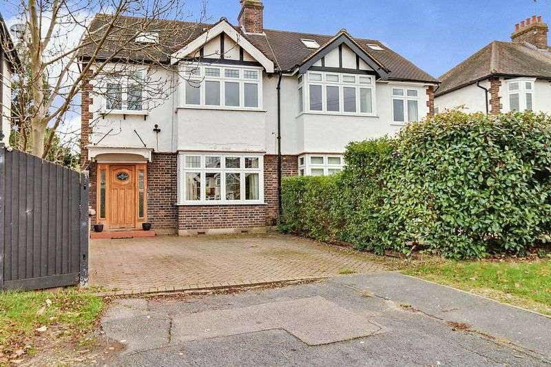 5 Bedrooms Semi Detached House for sale in Kenley Walk, North Cheam. SM3 8ES