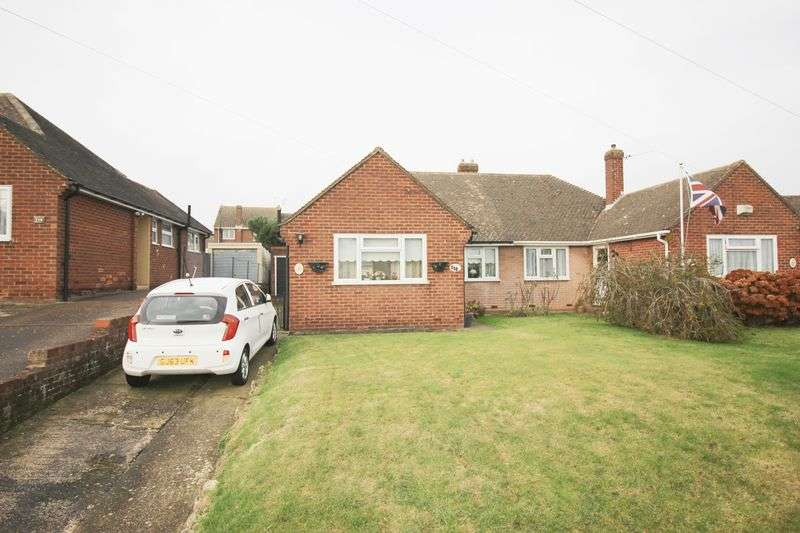 3 Bedrooms Semi Detached Bungalow for sale in Birling Road, Snodland