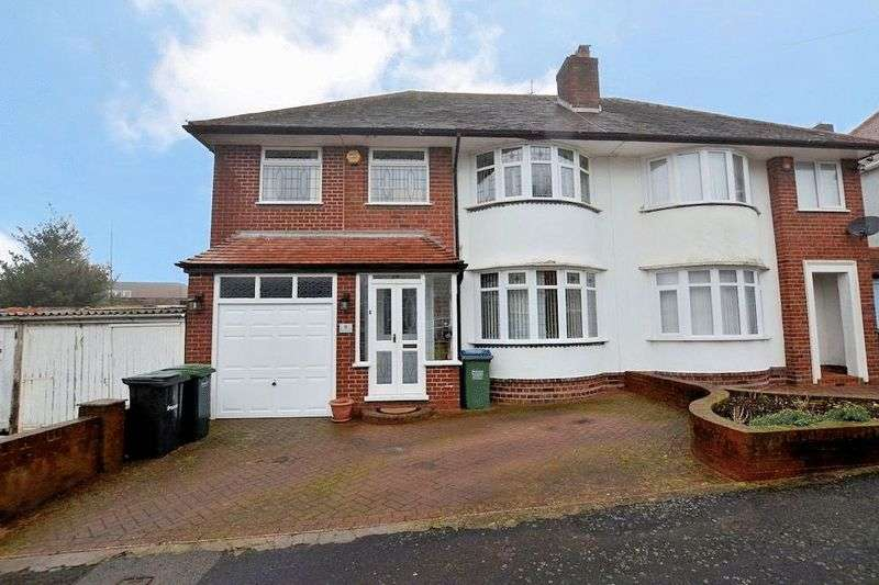 4 Bedrooms Semi Detached House for sale in Birch Lane, Oldbury