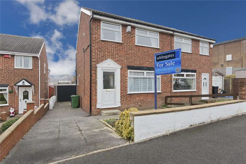 3 Bedrooms Semi Detached House for sale in Ganners Close, Leeds, West Yorkshire, LS13