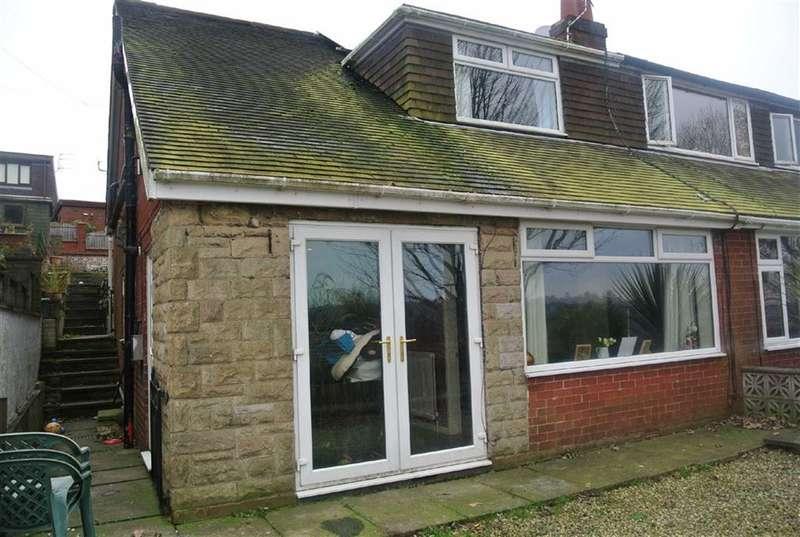 3 Bedrooms Property for sale in Den Lane, Springhead, SADDLEWORTH, OL4