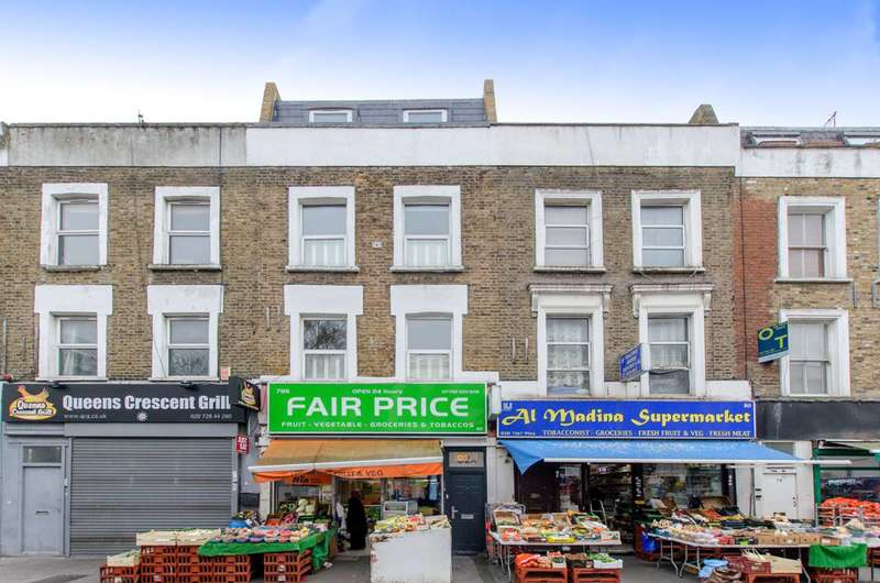 3 Bedrooms Maisonette Flat for sale in Queens Crescent, Kentish Town, NW5