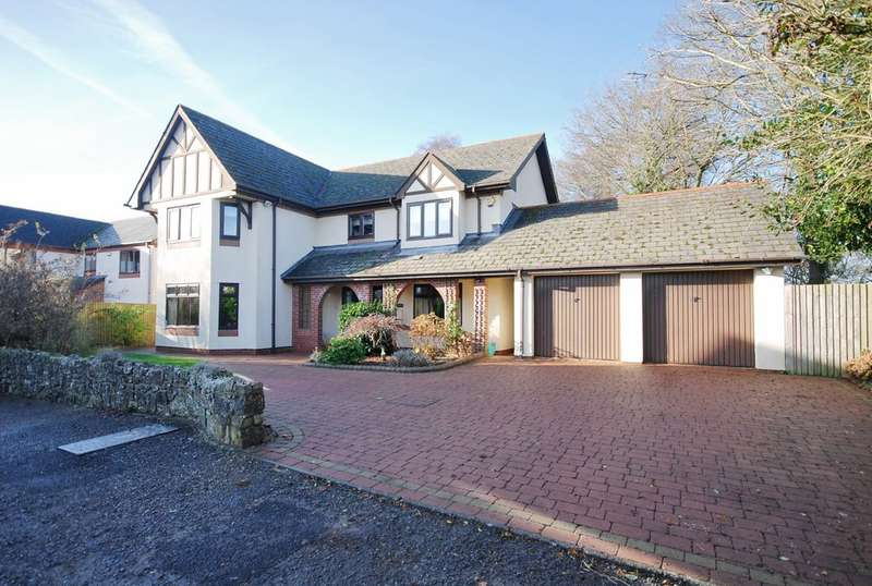 5 Bedrooms Detached House for sale in Rectory Court, Llanmaes, Llantwit Major, Vale of Glamorgan, CF61 2WJ
