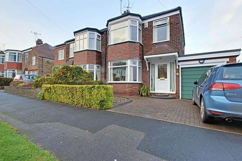 3 Bedrooms Semi Detached House for sale in Redland Drive, Kirk Ella