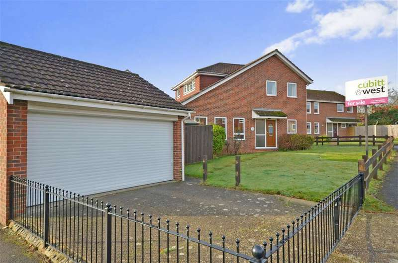 3 Bedrooms Detached House for sale in Moggs Mead, Petersfield, Hampshire