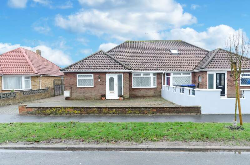 3 Bedrooms Semi Detached Bungalow for sale in Bowness Avenue, Sompting, West Sussex, BN15
