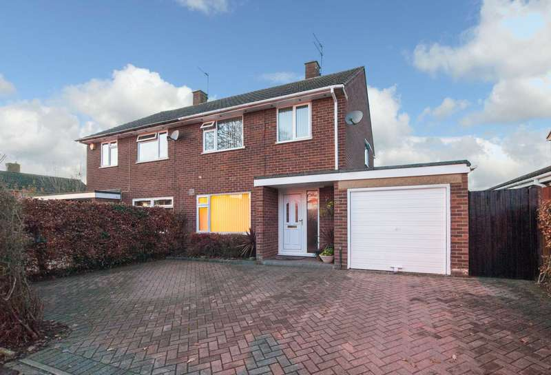 3 Bedrooms Semi Detached House for sale in Gadebridge, Hemel Hempstead
