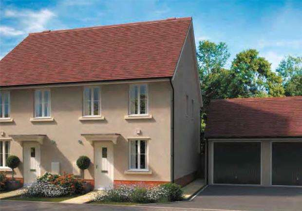 2 Bedrooms Semi Detached House for sale in Hawthorn Rise, Windsor Avenue, Newton Abbot, Devon