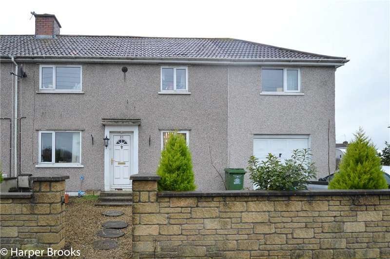 3 Bedrooms Semi Detached House for sale in Tennis Court Avenue, Paulton, Bristol, BS39