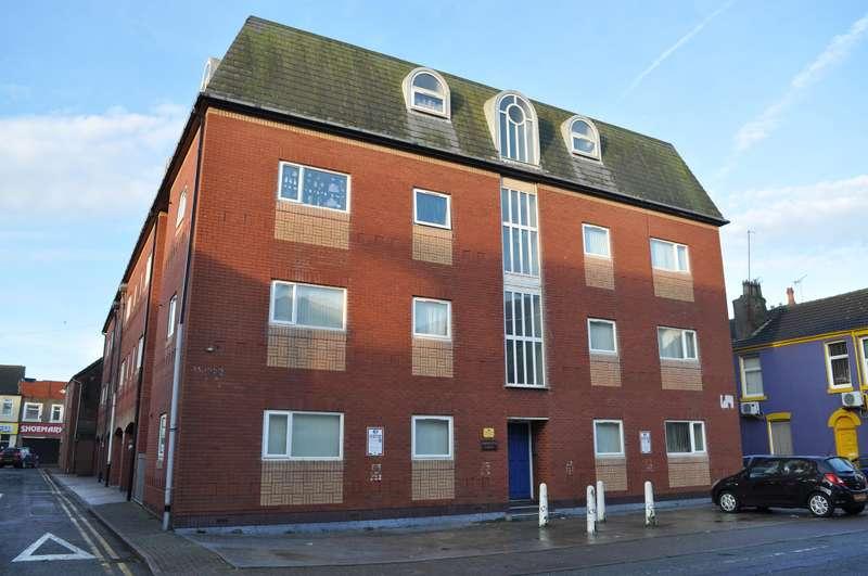 1 Bedroom Flat for sale in Naventis Court, Singleton Street, Blackpool, FY1 5AX