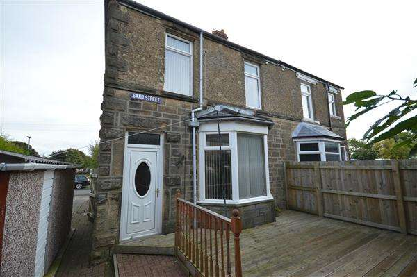 3 Bedrooms Semi Detached House for sale in Sand Street, Stanley