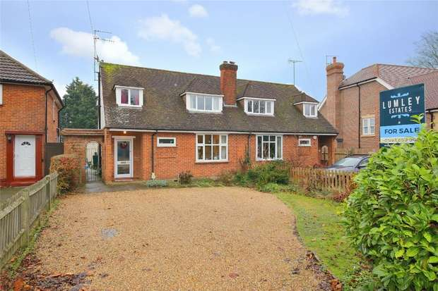 4 Bedrooms Semi Detached House for sale in Gills Hill Lane, Radlett