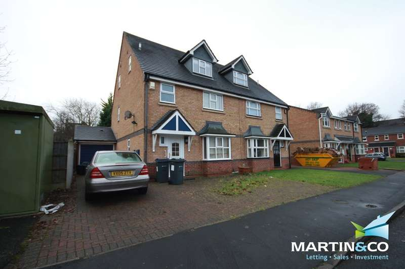 5 Bedrooms Semi Detached House for rent in Mariner Avenue, Edgbaston, B16