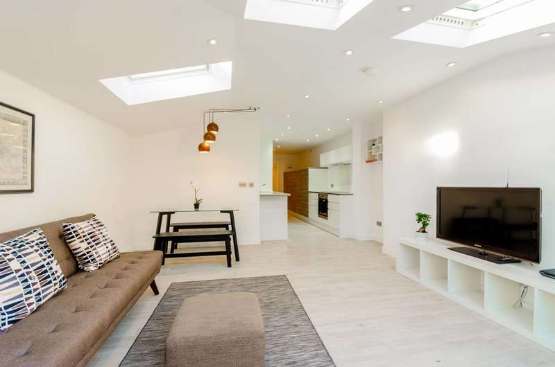 2 Bedrooms Flat for sale in Selborne Road, Alexandra Park, N22