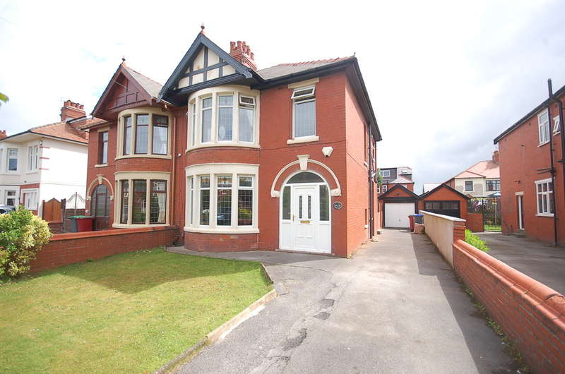 3 Bedrooms Semi Detached House for sale in Coniston Road, Blackpool