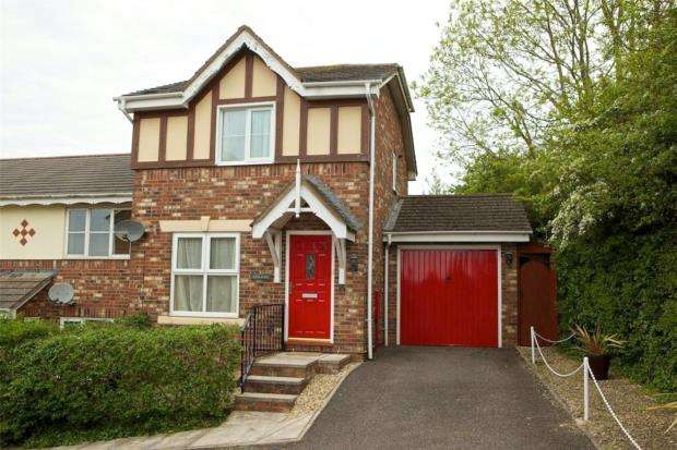 3 Bedrooms End Of Terrace House for sale in Woburn Close, Paignton, Devon