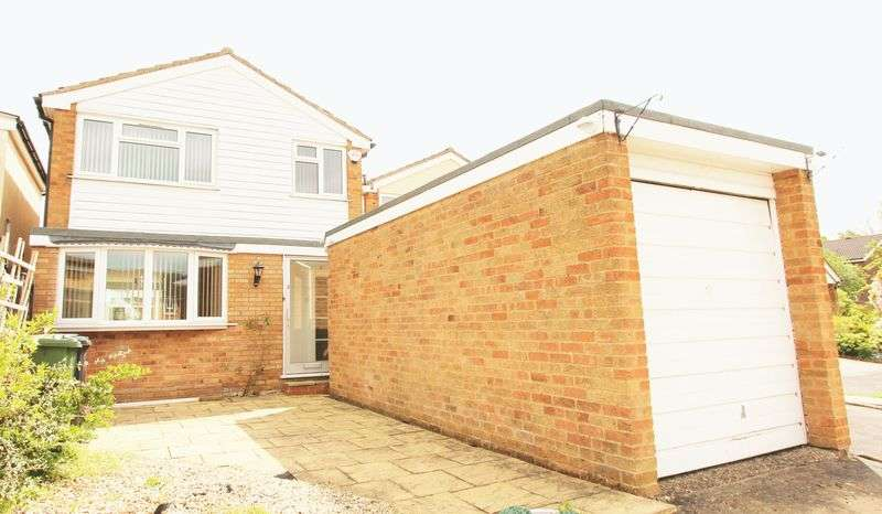 3 Bedrooms Detached House for sale in Edgehill Close, Great Glen, LE8 9FY