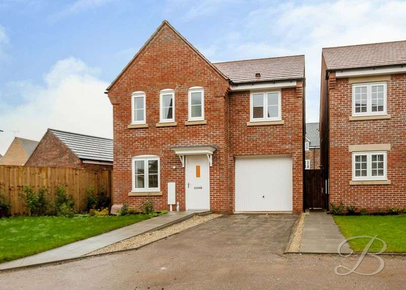 4 Bedrooms Detached House for sale in Sorrel Drive, Kirkby-In-Ashfield