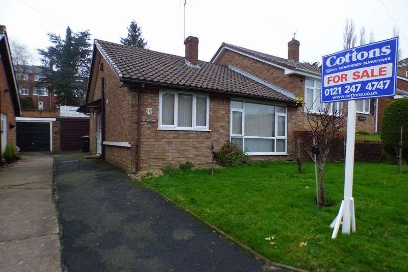 2 Bedrooms Semi Detached Bungalow for sale in Nigel Road, Dudley