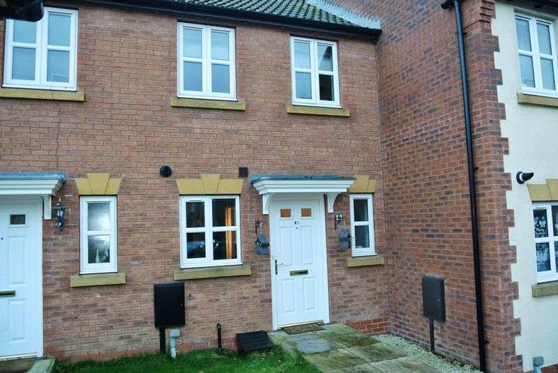 2 Bedrooms House for sale in Piper Close, Mansfield