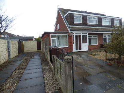 3 Bedrooms Semi Detached House for sale in Salcombe Drive, Southport, Merseyside, Uk, PR9