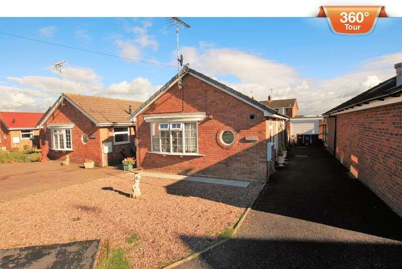2 Bedrooms Detached Bungalow for sale in Pine Walk, Uttoxeter