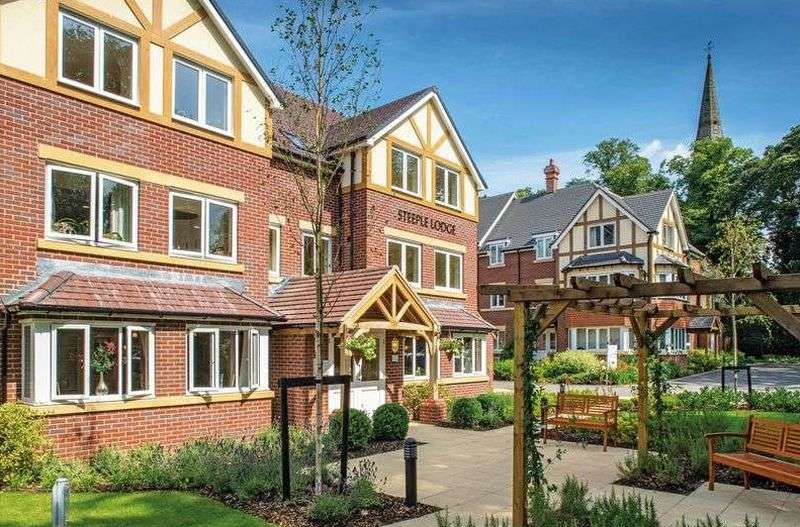 1 Bedroom Flat for sale in Steeple Lodge , Boldmere : One bed lower ground retirement apartment