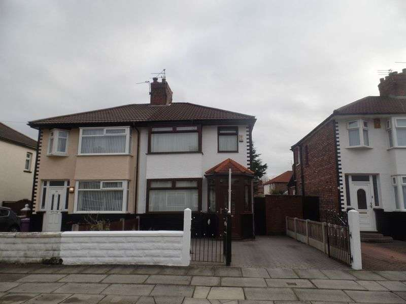 3 Bedrooms Semi Detached House for sale in Corwen Road, Liverpool