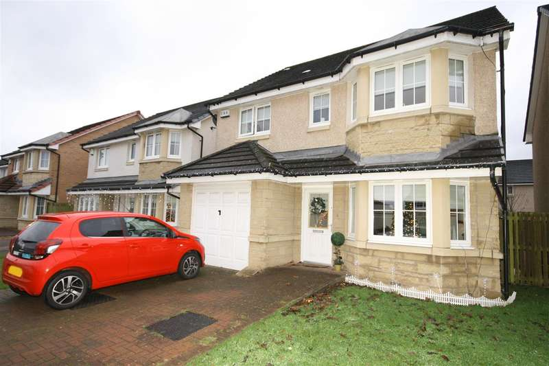 4 Bedrooms Detached House for sale in Foundry Loan, Larbert