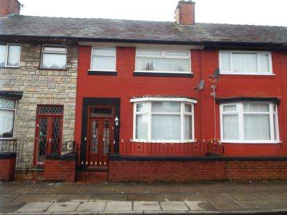 3 Bedrooms Terraced House for sale in Glengariff Street, Liverpool, Merseyside, England, L13