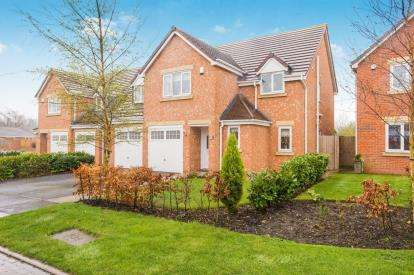 5 Bedrooms Detached House for sale in Leveret Court, Farington Moss, Leyland, Lancashire