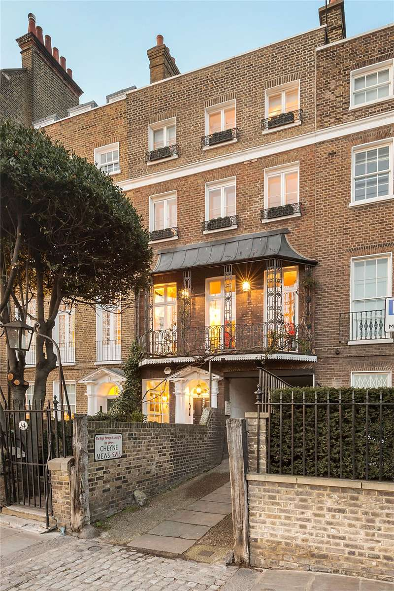 5 Bedrooms Terraced House for sale in Cheyne Walk, London, SW3